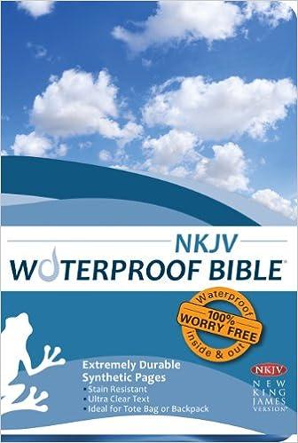 Waterproof Bible - NKJV - Blue: Bardin & Marsee Publishing