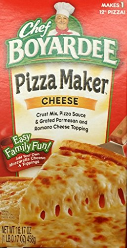 Chef Boyardee Pizza Maker, Cheese 16.17 Oz (Pack of 4)