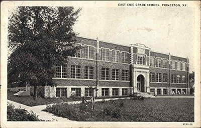 East Side Grade School Princeton, Kentucky Original Vintage Postcard