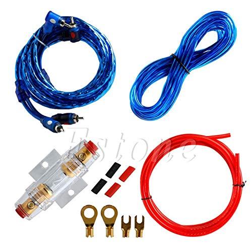 Kar-Acces - 1Pc 8GA FUSE Car Audio Subwoofer Sub Amplifier AMP Wiring Kit Power Cable