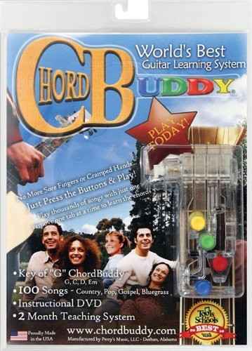 ChordBuddy Guitar Learning System for Right Handed Guitars. Includes ChordBuddy, 2 Month Lesson Plan DVD and Song Book by ChordBuddy (Image #7)
