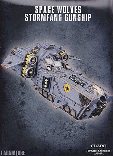 Space Wolves Stormfang Gunship Warhammer 40K