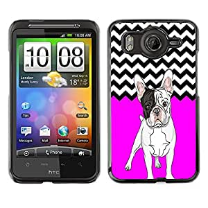 - Ocean Seas - - Hard Plastic Protective Aluminum Back Case Skin Cover FOR HTC G10 Queen Pattern