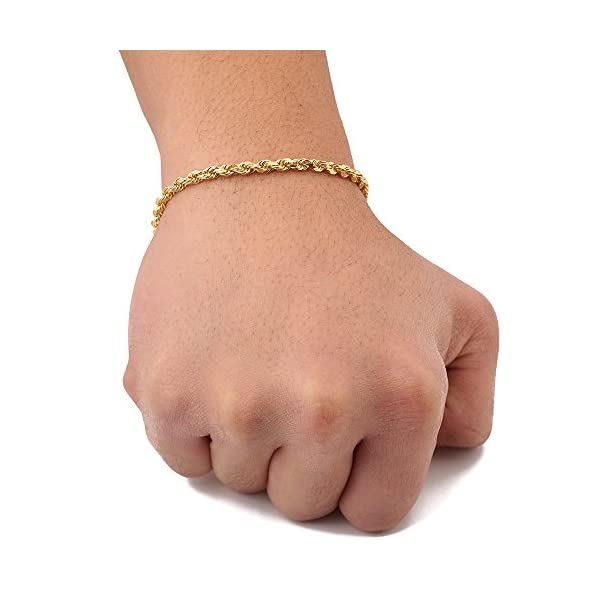 LoveBling-10K-Yellow-Gold-4mm-Solid-Diamond-Cut-Rope-Chain-Bracelet-with-Lobster-Lock-7-75-8-85-9