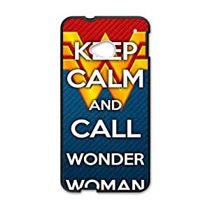 Happy Keep Calm And Call Wonder Cell Phone Case for HTC One M7