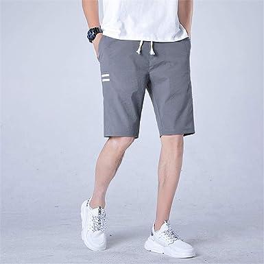 Pantalones Casuales Para Hombres Pantalones Casuales Para Hombres Pantalones Cortos De Verano Para Hombres Seccion Delgada Cinco Pantalones Cortos De Moda Para Adolescentes Pantalones Para Hombres Amazon Es Ropa Y Accesorios