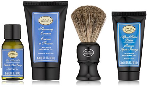The Art of Shaving The 4 Elements of The Perfect Shave Kit, Lavender, 4 Count from The Art of Shaving