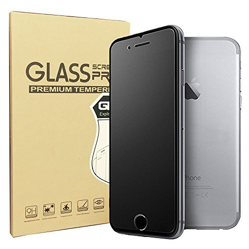 (iPhone 8/iPhone 7 Matte Screen Protector, Sonto Tempered Glass Film Anti-Fingerprint Anti-glare Protector for iPhone 8/7 4.7 inch, Ultra Slim Smooth as Silk (iPhone 7/8))