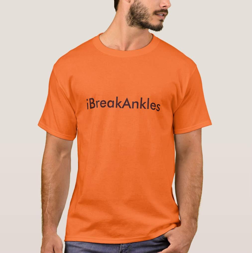 I Break Ankles Unisex T Shirt Funny Print Short Sleeve Tees Tops