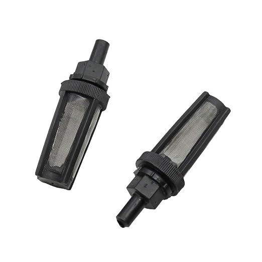 AiCheaX - Filtro de agua con enrejado metálico para el kit de ...