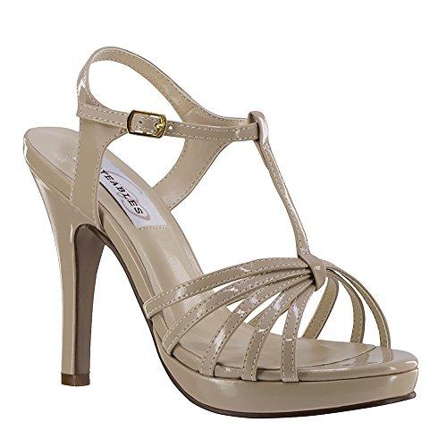 Dyeables Kaylee Women's Sandal 9 B(M) US Nude