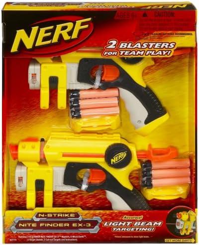 Nerf N-Strike Nite Finder EX-3 - by Hasbro : Amazon.es ...