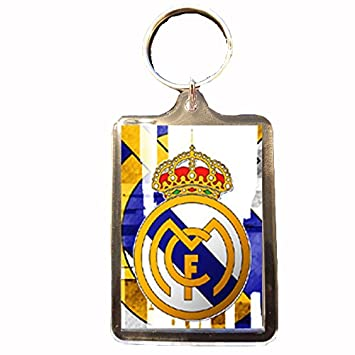 Real Madrid - Llavero (Crest Wht): Amazon.es: Deportes y ...