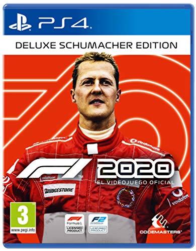 🥇 F1 2020 Deluxe Schumacher Edición PS4 ESP