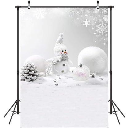 Fondo para Fotografia Muñeco de Nieve Fondo Photocall Vinilo ...