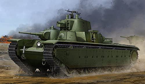 ホビーボス 83844 1/35 ソビエト T-35 重戦車 後期型 プラモデル