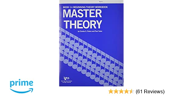 Complete Six Book Set of Music Theory Workbooks Master Theory