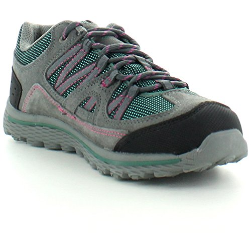 Sporty Womens Green Karrimor Up Territory Walking Grey Ladies Shoes Lace dgxBXqUX