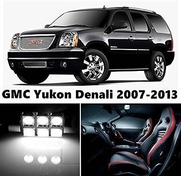 LED Package Reverse for Chevrolet Suburban 15Pcs Vanity Interior License