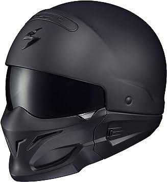 Amazon Com Scorpionexo Covert Unisex Adult Half Size Style Matte Black Helmet Matte Black X Large Automotive