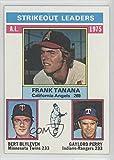 Bert Blyleven; Gaylord Perry; Frank Tanana (Baseball Card) 1976 Topps #204