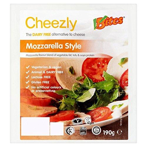 VBites Mozzarella Stil Cheezly Dairy Kostenlose Käse 190g