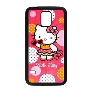 JenneySt Phone CaseHello Kitty Pattern For Samsung Galaxy S5 -CASE-15