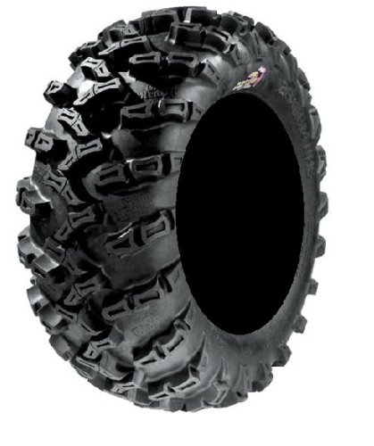 Pair of GBC Grim Reaper Radial (8ply) ATV Tires [27x9-14] (2) by Powersports Bundle (Image #1)