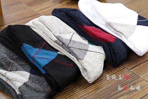 5pairs Homme Couleur Chaussette Coton Sport Carreau Bigood Chausettes Aléatoire gUAwxqzCw