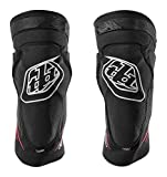 Troy Lee Designs Raid Knee Guard, Solid Black, XS-S