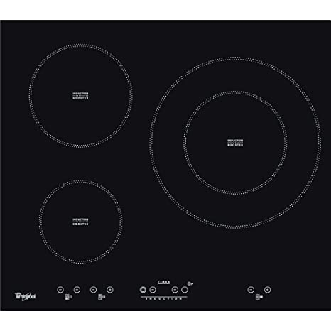 Whirlpool - Placa de inducción acm332/ba con 3 zonas booster ...