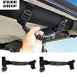 2X Roll Bar Grab Handle Jeep Wrangler Yj Tj Jk Cj Unlimited Off Road Accessory