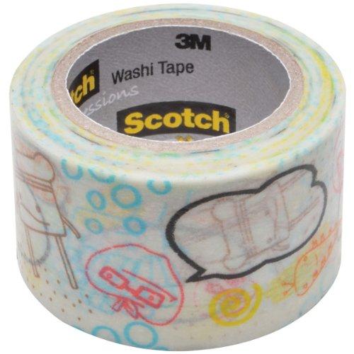 3M Washi Tape 1.18