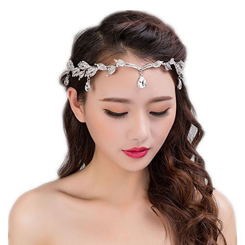 the love Silver Alloy Crown with Rhinestone Wedding Headdress or Bride Accessories, Headpieces Headwear Accessories for Wedding or Party