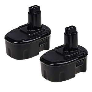 [Upgraded] 3.6Ah 14.4 Volt Ni-Mh DW9094 Replacement Battery for Dewalt 14.4V Battery XRP DC9091 DW9091 DW935 DE9038 DE9091 DE9092 Cordless Power Tools - 2 Pack