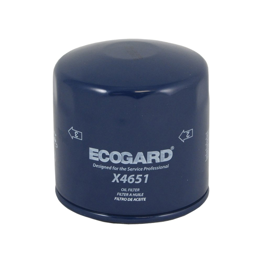 Ecogard X4651 Spin On Engine Oil Filter For Conventional 1995 Ford F 350 7 3 Fuel Location Premium Replacement Fits 150 Explorer Expedition 250 Super Duty