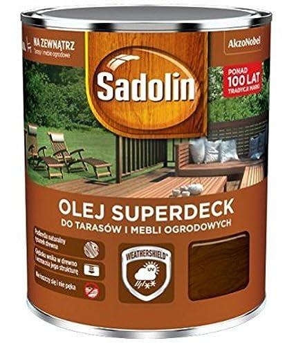 Sadolin - Muebles de Jardín superdeck profesional, terassenöl 5 ...
