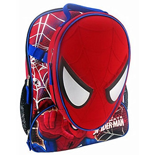 "Marvel Ultimate Spider-man 16"" Backpack and Insulated Lunchbox Lunch Bag"