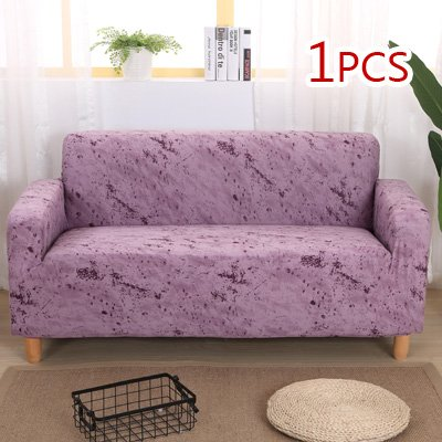 FIOLTY Ink Pattern Elastic Stretch Univers Sofa Section Throw Couch Corner Cover Cases for Furniture Arm Home Decor: 3, Single seat Sofa