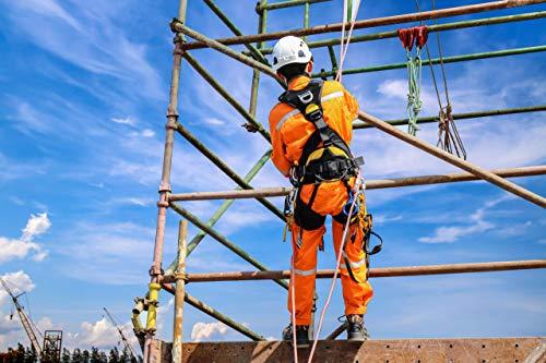 Arbeit mit Kinnriemen Klettern f/ür Ger/üstbau Hut Endurance Helm