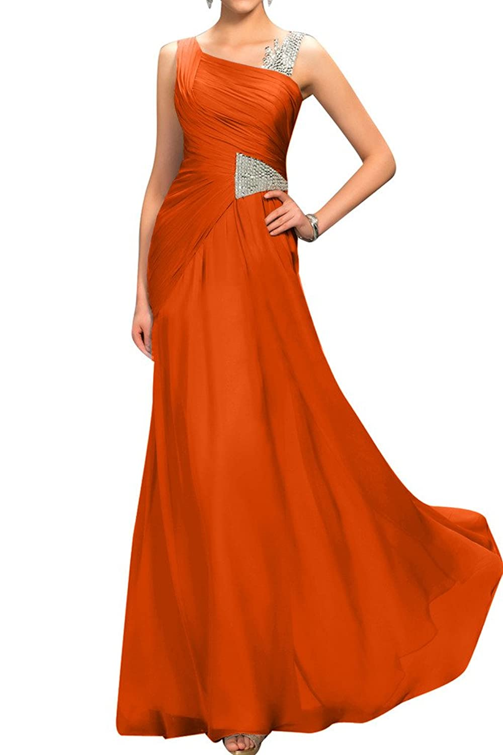 Sunvary Simple A Line Sleeveless Wedding Guest Dress Party Gowns Evening Dress