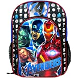 Marvel Avengers Large Boys Backpack (Hulk, Superman, Thor, Ironman) 16 Inch
