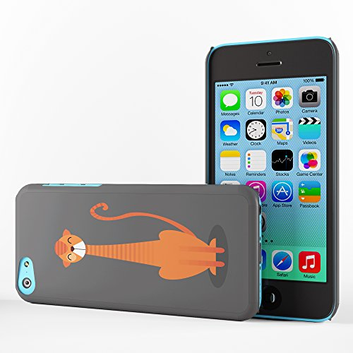 Koveru Back Cover Case for Apple iPhone 5C - Thinking Cat