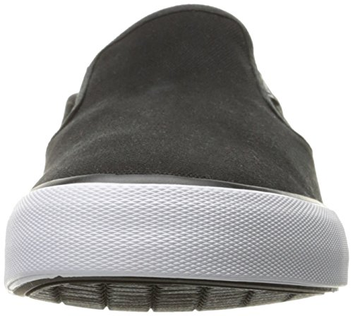 Lugz Men's Clipper Fashion Sneaker, Black/White, 7 M US