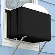 Homasen Window Air Conditioner Covers for Winter, Window AC Unit Covers Outside for Freeze Protection, Durable