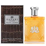Safari by Ralph Lauren for Men, Eau De Toilette Natural Spray, 4.2 Ounce