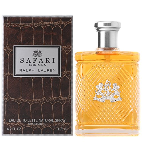 Safari by Ralph Lauren for Men, Eau De Toilette Natural Spray, 4.2 Ounce by RALPH LAUREN
