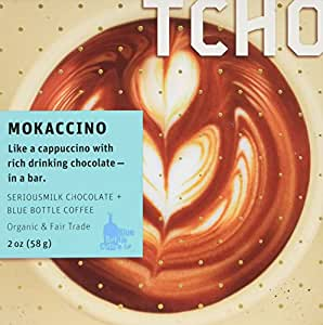 Tcho Mokaccino SeriousMilk + Blue Bottle Coffee 58g bar