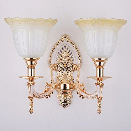 Ehime Das Wohnzimmer Wand Lampen Zinklegierung euro - Wandleuchten Jade crystal Wandleuchte Haus Atmosphäre und herzliche Nachttischlampe keine optische Quelle