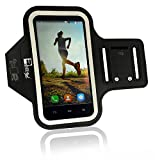 Samsung Galaxy S7 Armband with Fingerprint Access for the Home Button. Premium Phone Arm Case Holder for Running, Gym Workouts & Exercise